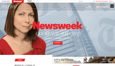 The latest online-only issue of Newsweek