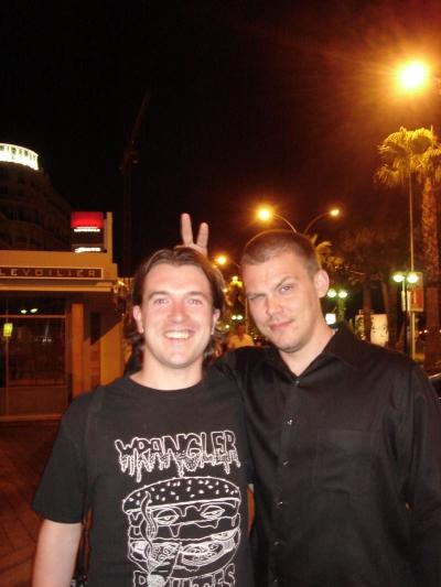 Creativity/Adcritic's Nick Parish and Thunderdog Studios main man Tristan Eaton