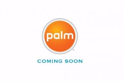 Palm's new homepage.