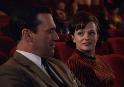Don (Jon Hamm) and Peggy (Elisabeth Moss)