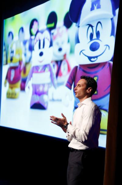 Disney Interactive Co-President James Pitaro at the company's NewFront event