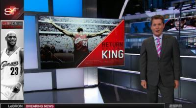 ESPN goes big.