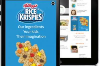 Kellogg's tested the new system for a Rice Krispies mobile campaign.