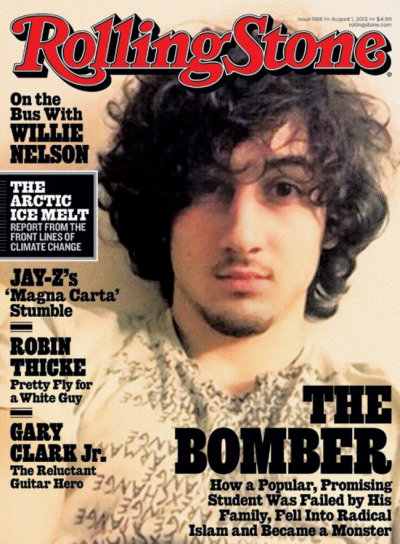 Rolling Stone's 'The Bomber' cover