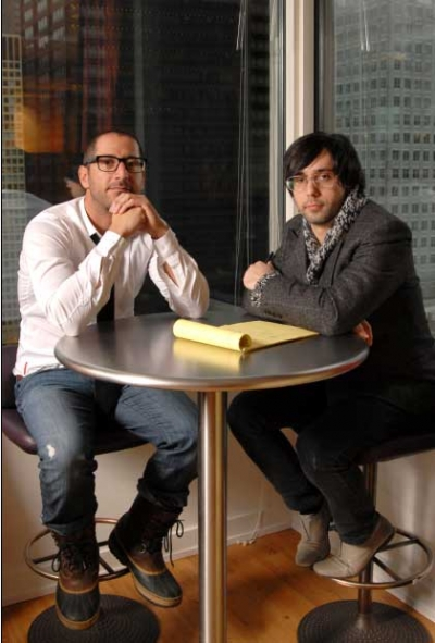 Ryan Wagman (left) and Nuno Ferreira