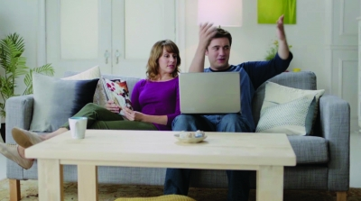 Bada-Bing: Microsoft's 'Scroogled' TV spot takes shots at Google.