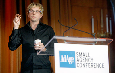 Method co-founder and chief brand architect, Eric Ryan, at Ad Age's Small Agency Conference.