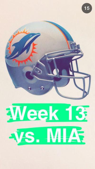 An image from the schedule the Jets posted on Snapchat