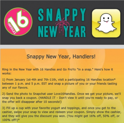 Snappy new year handlers