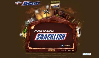 Agency.com's original Snickers site