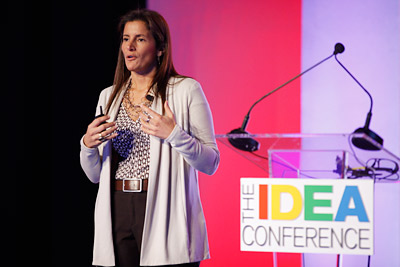 Mary-Ann Somers at the IDEA Conference.