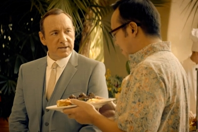 Kevin Spacey in E-Trade's 'Type E' TV campaign