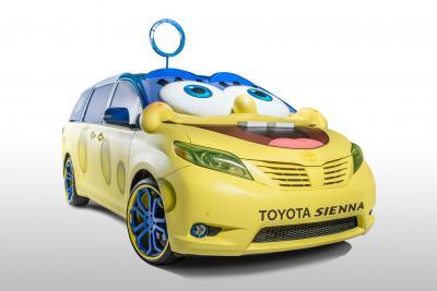 The SpongeBob concept car for Toyota