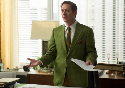 Ted Chaough (Kevin Rahm) looks appropriately incredulous amid a fair amount of incredible behavior.