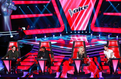 The judges on the fourth-season debut of NBC's 'The Voice'