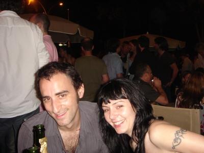 Paranoid directors Tobias Perse and Nicole McDonald