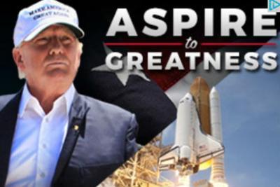 A Trump campaign ad online.