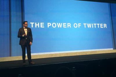 Twitter's Shailesh Rao at CES Asia.