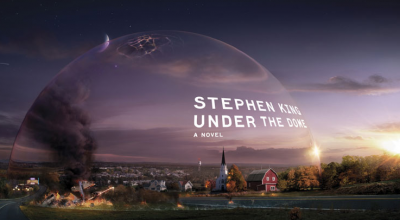 The book jacket for 'Under the Dome'