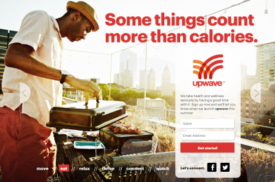 The placeholder for Upwave's website, coming next month