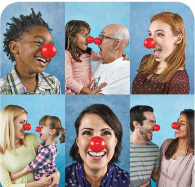 Walgreens ad for Red Nose Day