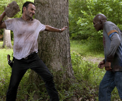 The ever-cheery 'Walking Dead' is on break until February.