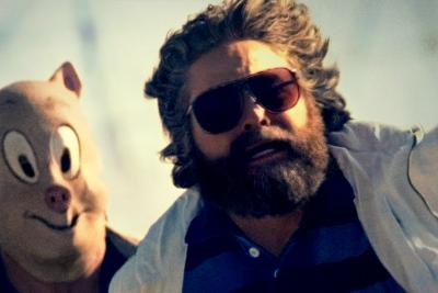 Zach Galifianakis in 'The Hangover Part III.'