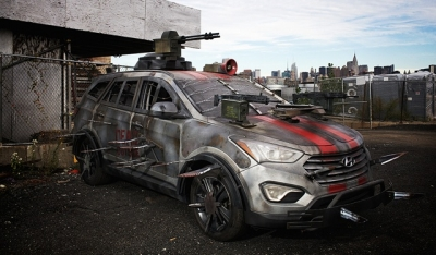 The winning design in a Hyundai contest to design the best zombie survival machine