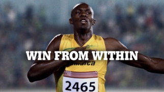 Gatorade's new campaign features Usain Bolt, above, Dwayne Wade and Abby Wambach.