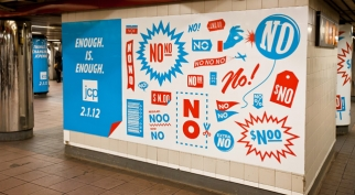 New ads alert customers to the retailer's groundbreaking strategy.