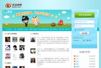 Sina Weibo, China's biggest microblog