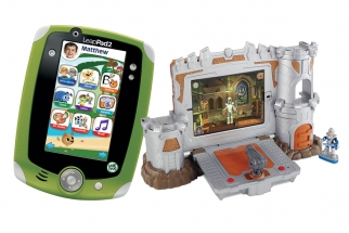 Imaginext Apptivity Fortress and Leapfrog Tablet