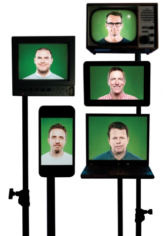 B-Reelers: (Clockwise from top right): Pelle Nilsson, Anders Wahlquist, Fredrik Heinig, Petter Westlund, Johannes Ahlund.
