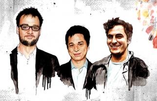 Pinterest founders (from left) Evan Sharp, Ben Silbermann and Paul Sciarra.