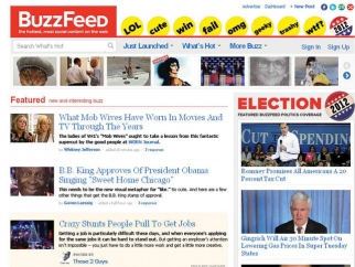 BuzzFeed was born as a Web trend-tracker and meme creator.