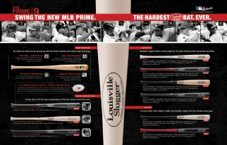With the MLB Prime line, Louisville Slugger is the first bat maker to sell the product used by MLB players at retail.
