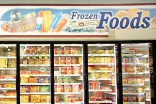Frozen-food aisle