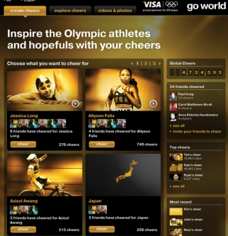 TBWA's work on Visa's Olympic campaign, Go World, had millions of fans engaging with the brand to cheer on Olympic athletes.