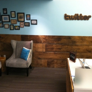 Twitter's Madison Avenue office