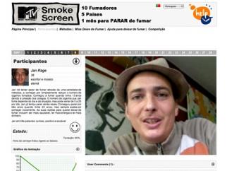 MTV Smoke Screen Turns Personal Challenge Social