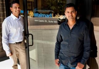 Walmart Labs' Venky Harinarayan (left) and Anand Rajaraman