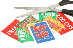 Coupon Clipping Stages a Comeback