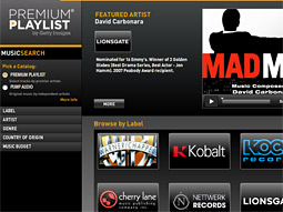 Getty Images Launches Premium Music Platform