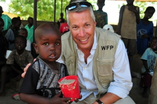 Jonathan Blum, Yum chief public affairs officer, joined a World Food Programme delegation on a fact-finding trip to Kenya, where he talked with people who live in the slums of Kibera and in the world's largest refugee camp in Dadaab.