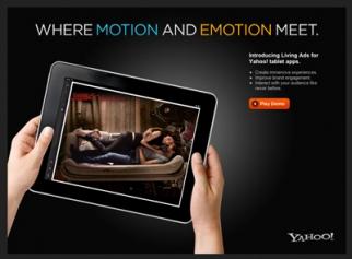 Yahoo's 'Living Ad'