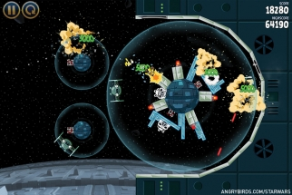 Angry Birds Star Wars is an instant hit for Rovio.
