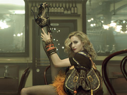 Madonna Gets Racy With Louis Vuitton