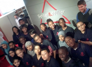 Seiter & Miller recently hosted a group of seventh graders from Castle Hill Middle School in the Bronx.