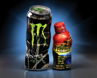 Energy Drinks Battle Dark Cloud, Try to Remain Beverage Bright Spot