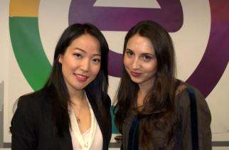 Jenny Wu and Nina Cherny